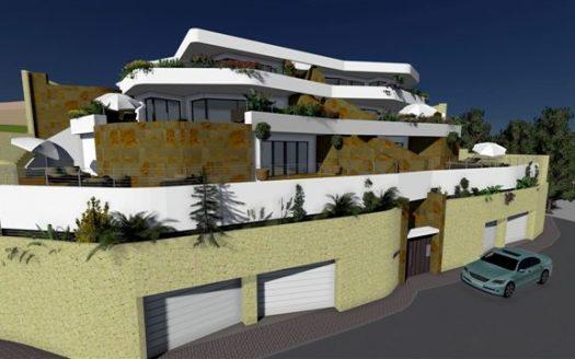 Современные апартаменты в Бенидорме