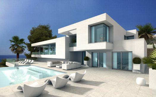 Villa de estilo moderno en Cumbre del Sol