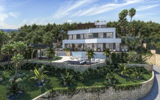Moderna villa en Benissa