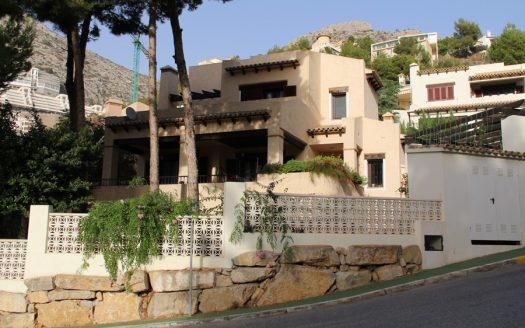 Villa estilo mediterráneo en Altea Hills