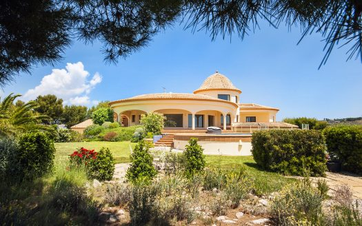 Magnificent villa in Calpe