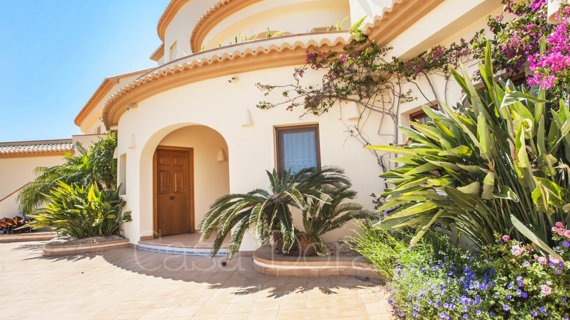 Magnífica villa en Calpe