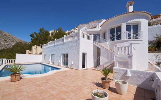 Fantastic villa in Altea Hills