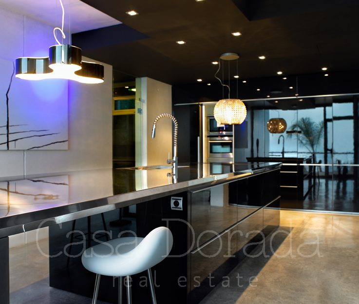 Exclusive design villa in Benidorm
