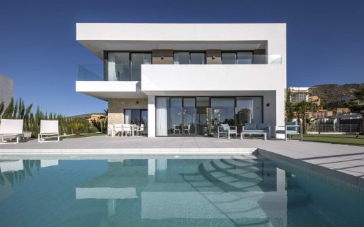 Modern designer villas with panoramic view in Finestrat