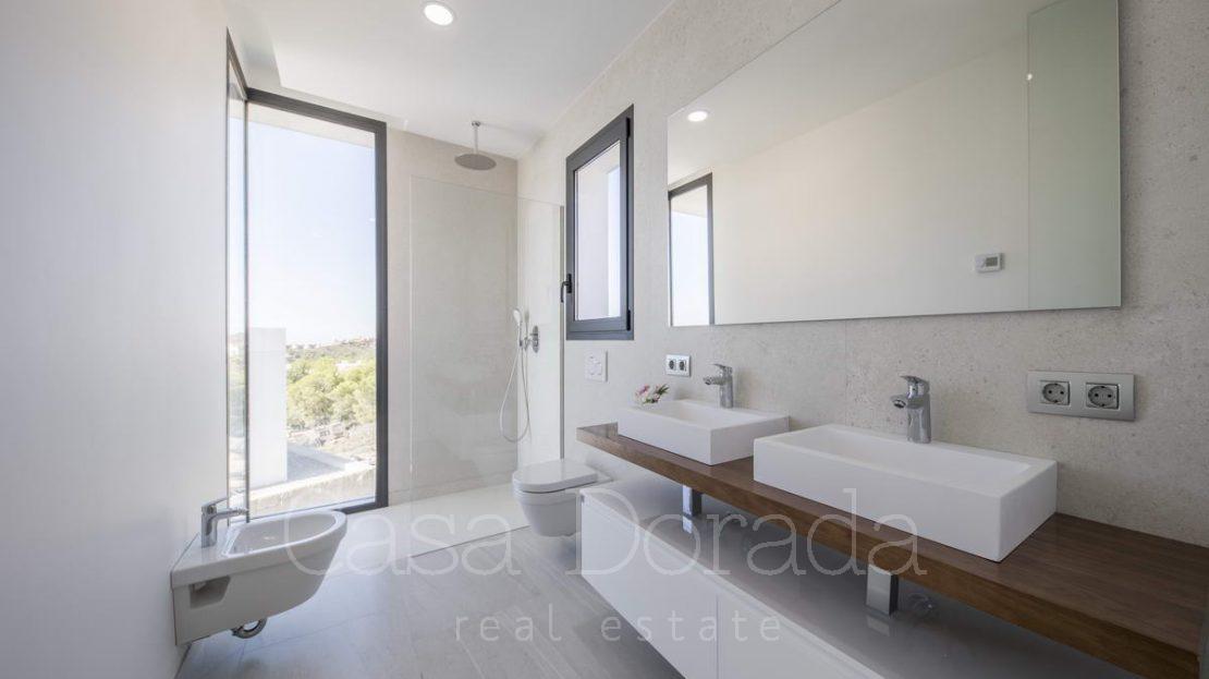Modern designer villas with panoramic view in Finestrat