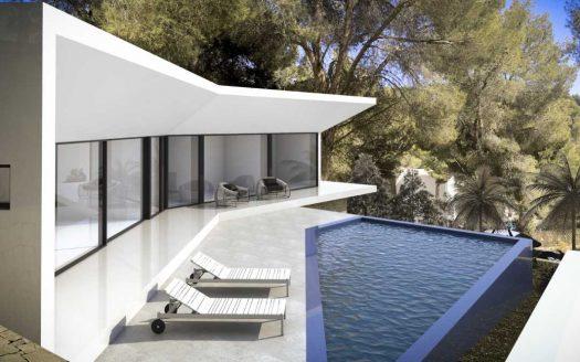 Новое строительство-вилла в Монтерико