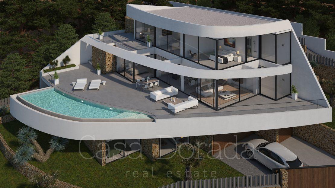Luxury new build villa in Mascarat