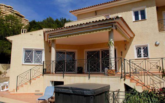 Villa en Sierra de Altea.