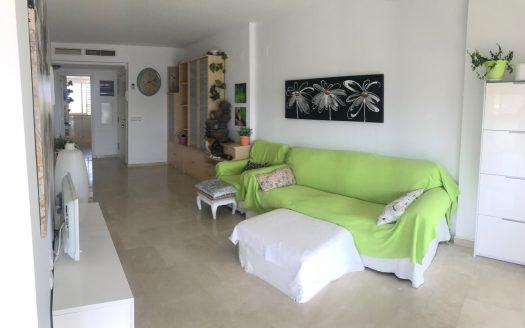 Apartamento en Benidorm con vistas al mar