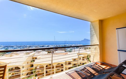 Apartment for rent in Altea in Campomanes Port