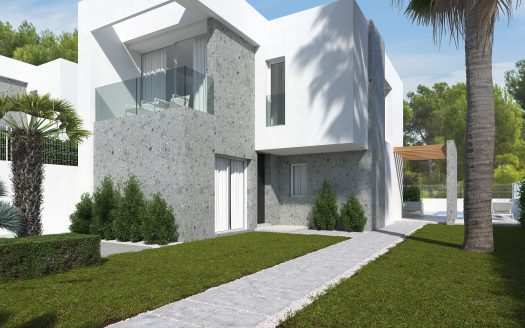 New building townhouses in Sierra Cortina in Benidorm